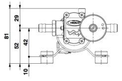 Marco SP2 Duschkit - Elektropumpe mit elektronischer Kontrollfunktion 2 bar 9
