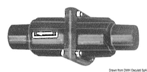 Whale Rückschlagventil Leitung 25/38 mm - Packung á 1 St. 3