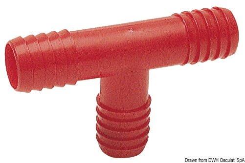 T-Aschluss aus Nylon 16 mm - Packung á 1 St. 3