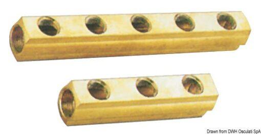 """Wasserverteiler 6-Auslässe 1""""1/4x1/2 - Packung á 1 St. 3"""