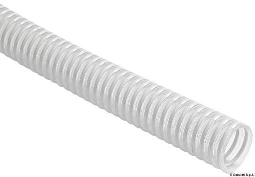 Schlauch m. weißer-PVC-Spiralierung 32 mm (30m Rolle) 3