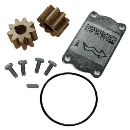Marco Ersatzteile R6400001 - Bronzezahnräder ø24 mm (O-Ring 2162 NBR) 3
