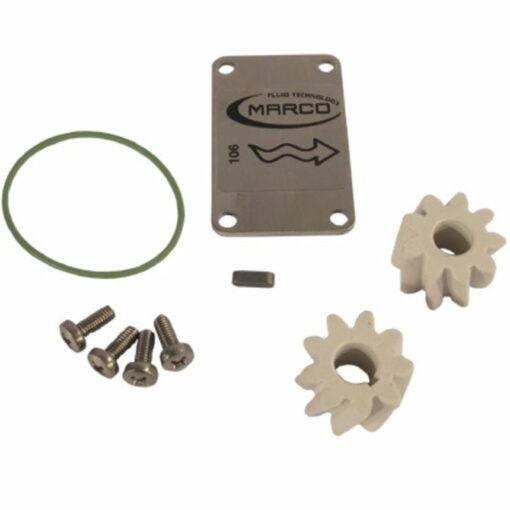 Marco Ersatzteile R6400025 - PTFE-Zahnräder ø24 mm (O-Ring 2162 Silikon) 3