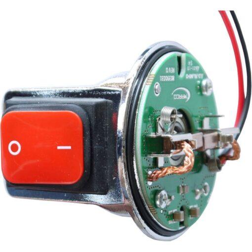 Marco Ersatzteile R6400061 - Bürstenhalter mit ON-OFF Schalter für Motor ø62 mm 3